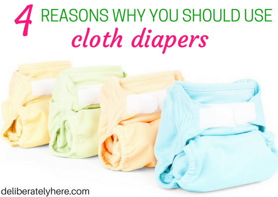4 Reasons Why You Should Use Cloth Diapers