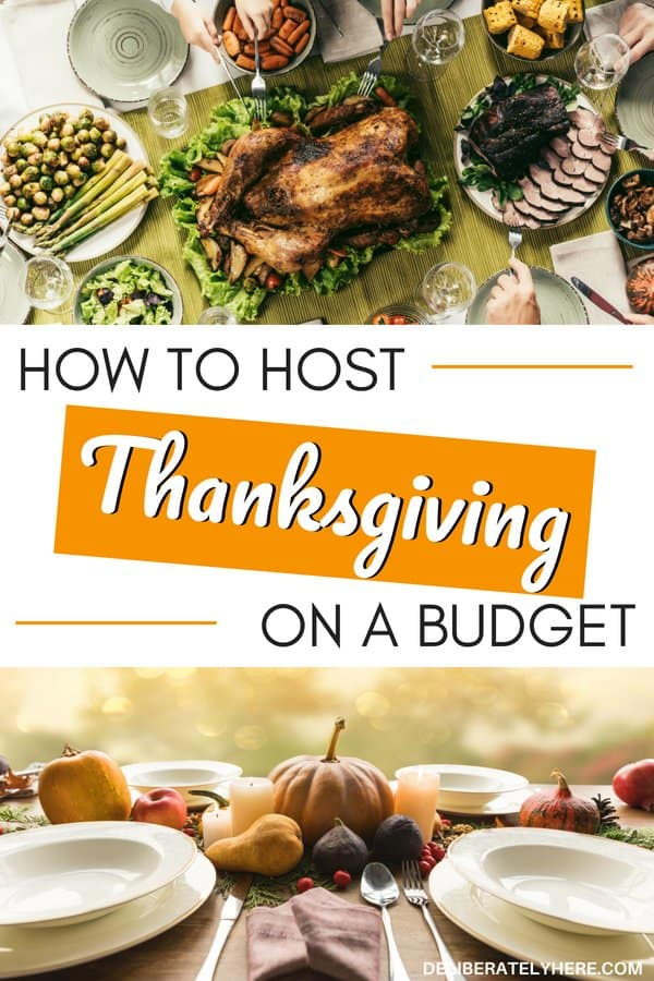 How to host Thanksgiving on a budget. Ways to host Thanksgiving on a budget. Save money this Thanksgiving by creating a Thanksgiving dinner meal plan for guests. Save money fast on Thanksgiving dinner.