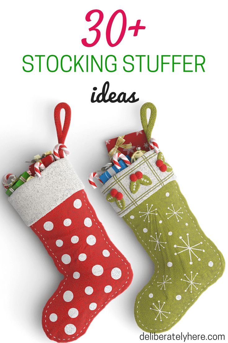 Over 30 Frugal Stocking Stuffer Ideas