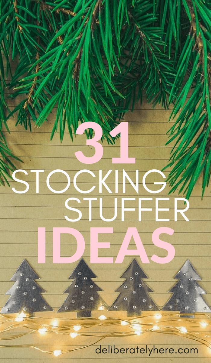 31 Stocking Stuffer Ideas