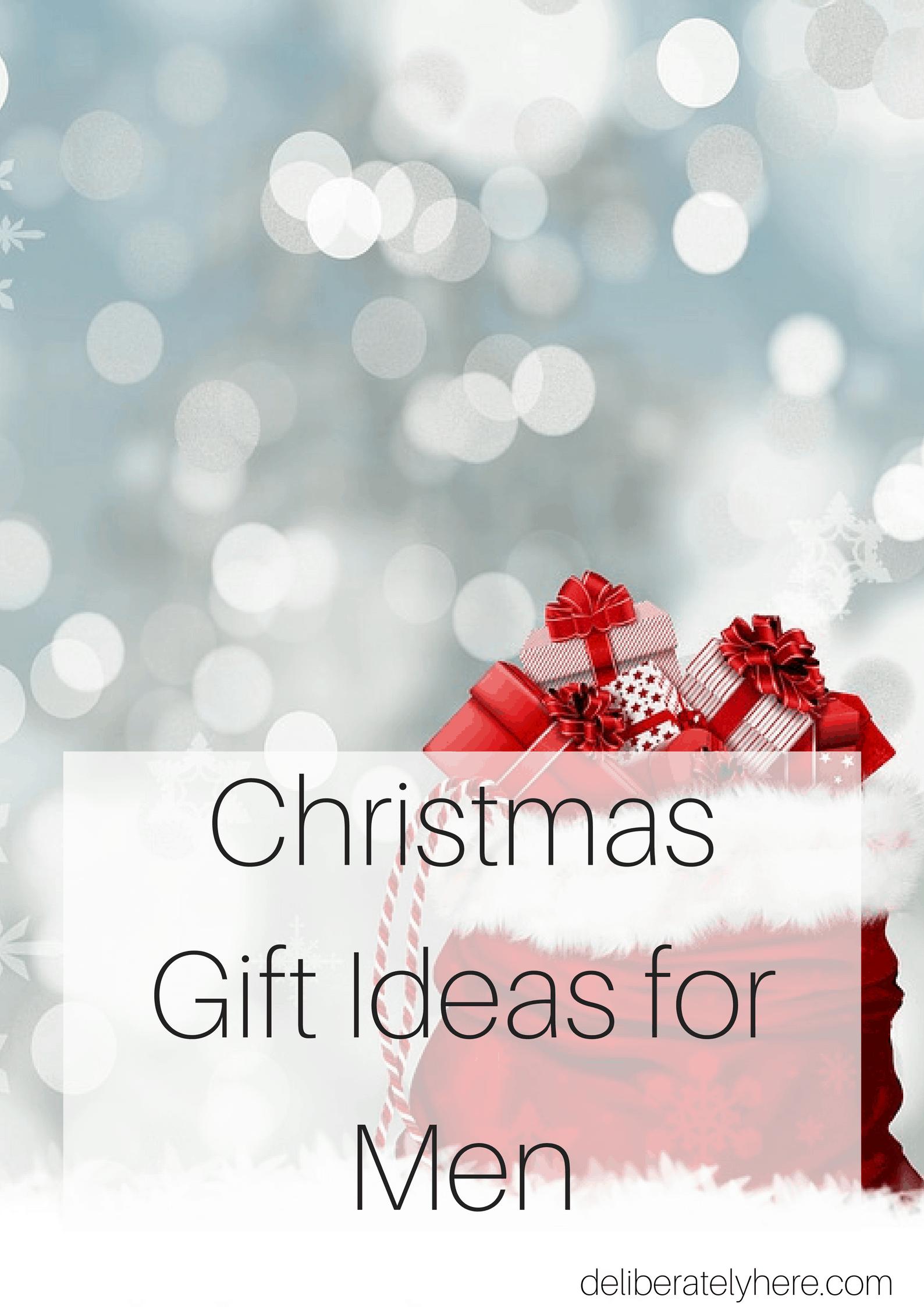 Christmas gift ideas for men, Christmas presents, Christmas shopping