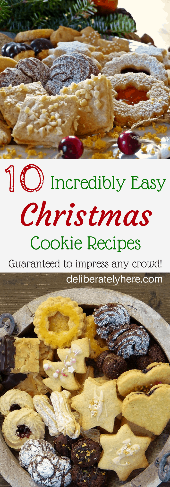10 Super Easy Christmas Cookie Recipes That Will Impress Any Crowd!