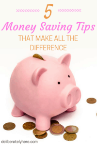 The Top 5 Money Saving Tips That Make all the Difference