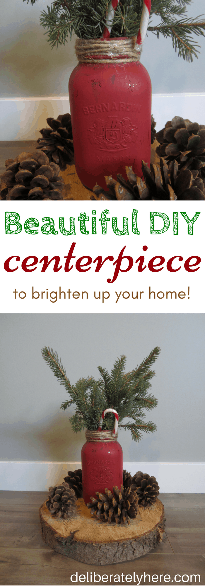 Beautiful and Easy DIY Winter Table Centerpiece to Brighten up Your Home
