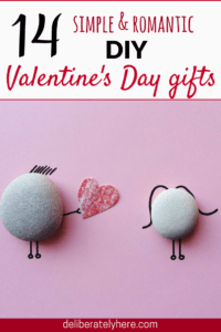 14 Simple and Romantic DIY Valentine's Day Gifts