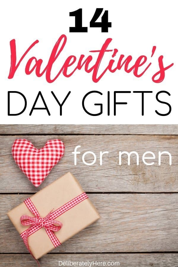 14 Valentine's day gifts for men. Gift ideas for men. Valentine's day gifts for him. DIY Valentine's day gifts for him that he will love! Cute and romantic valentine's day gifts for men.