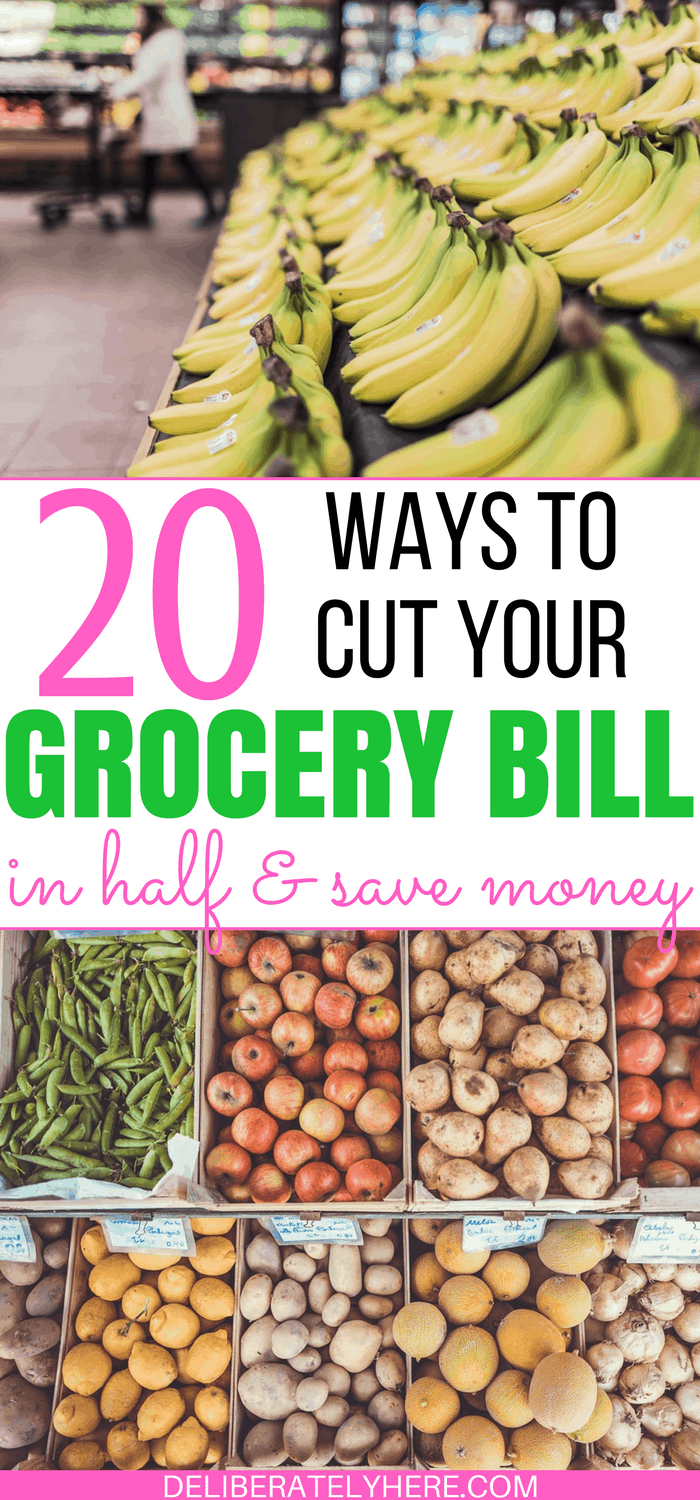 20 Ways to Cut Your Grocery Bill in Half and Save Money Easily