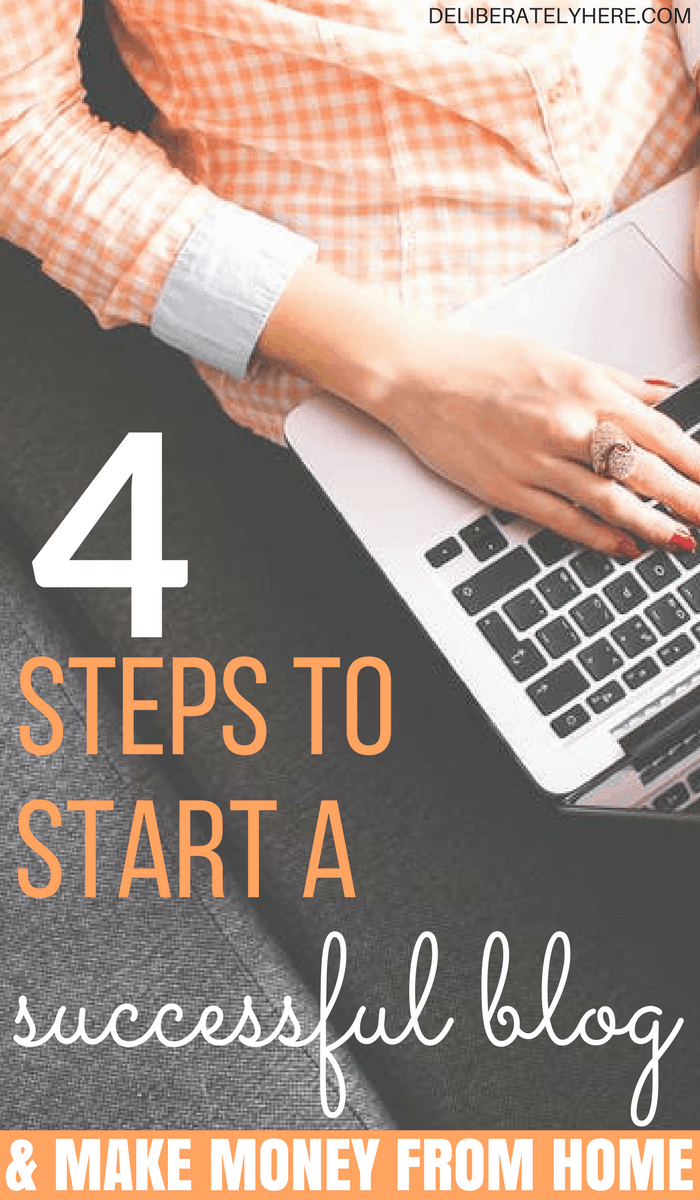 4 Steps to Start a Successful Blog & Make Money From Home Today