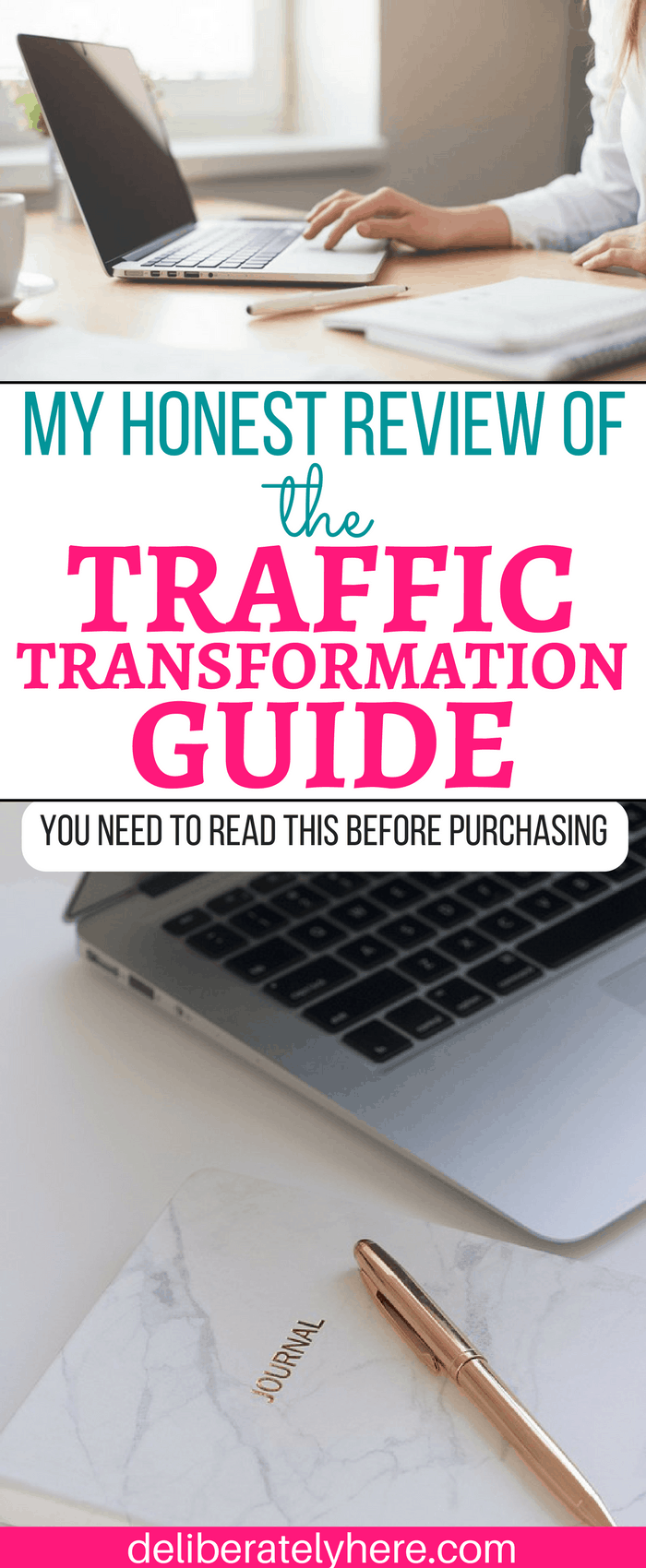 My Honest Review of the Traffic Transformation Guide by Lena Gott. YOU NEED TO READ THIS BEFORE PURCHASING!