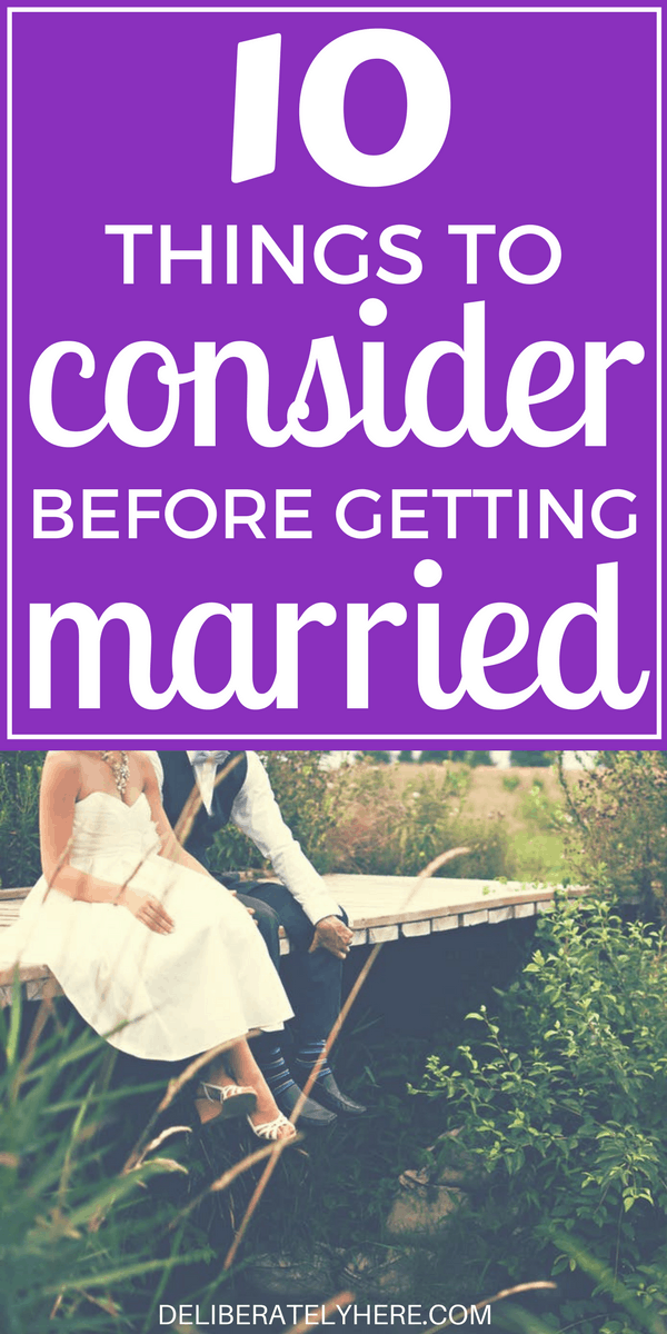 10 Things You NEED to Consider & Talk About Before You Get Married..THIS IS VITAL!