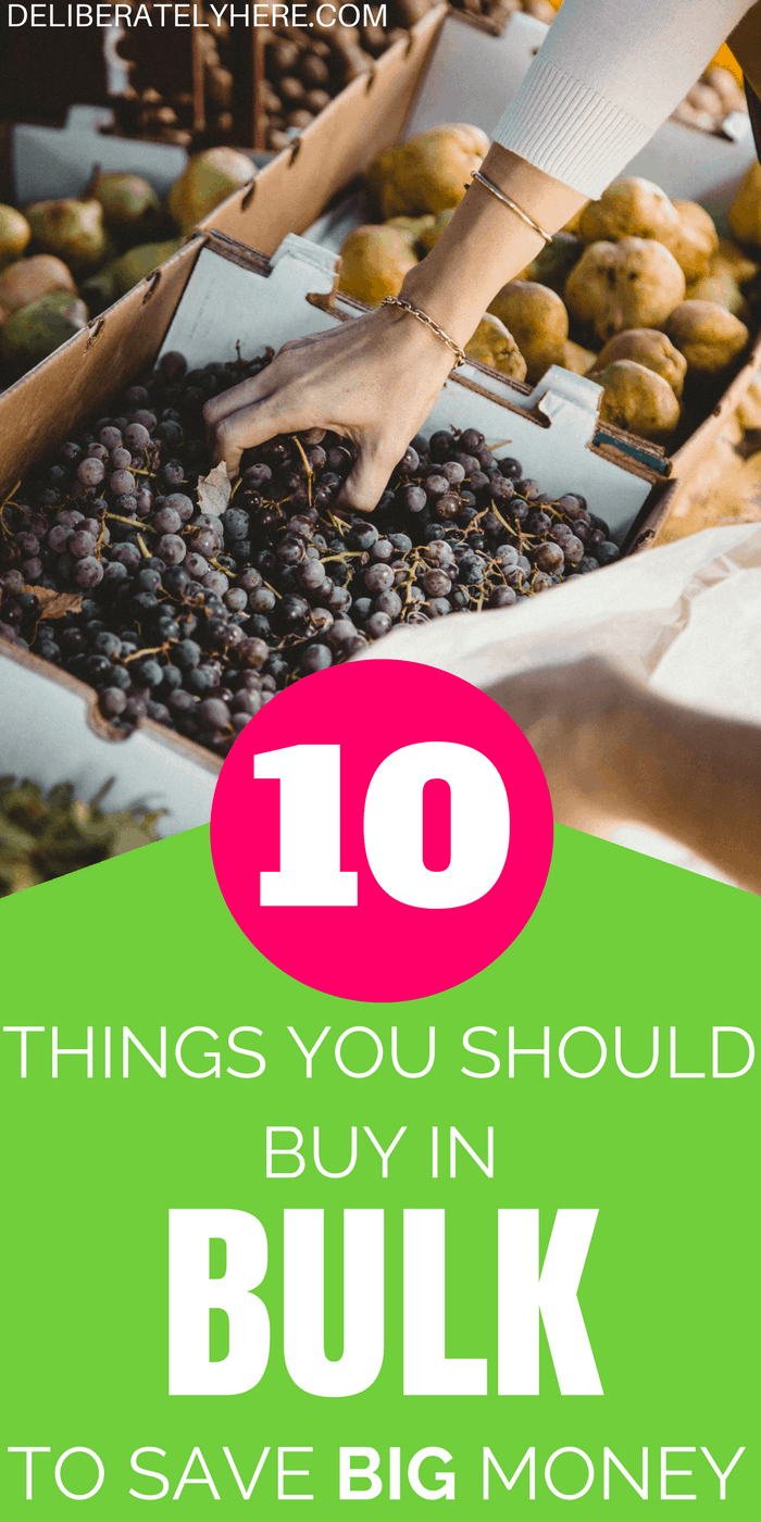 10 things you should always buy in bulk to save big money