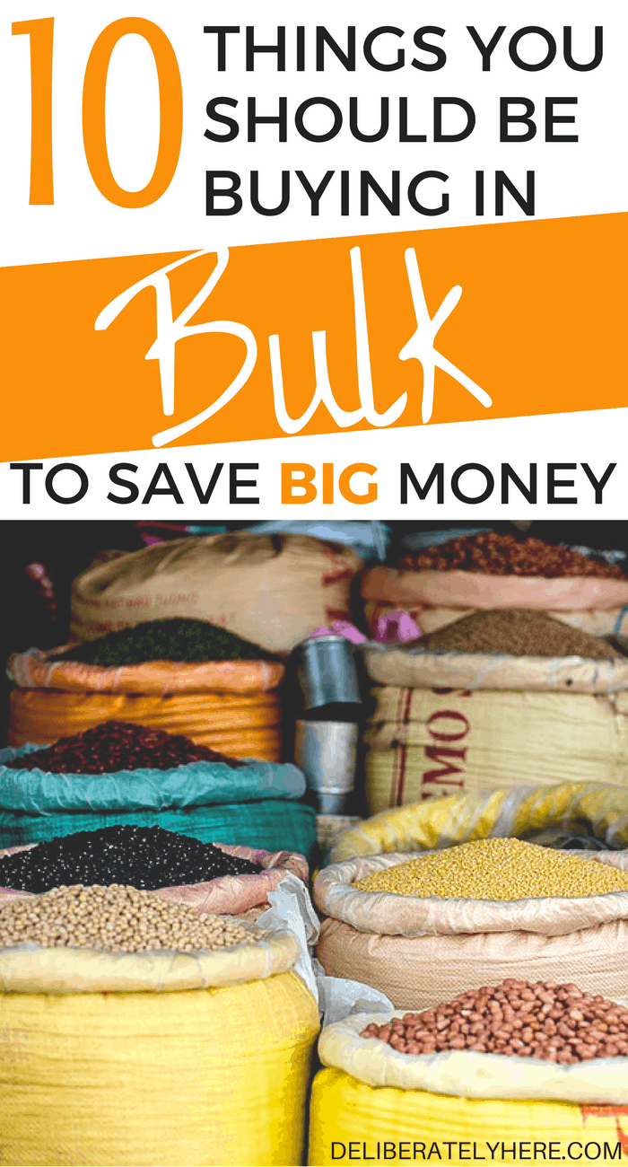 10 things you should buy in bulk to save big money