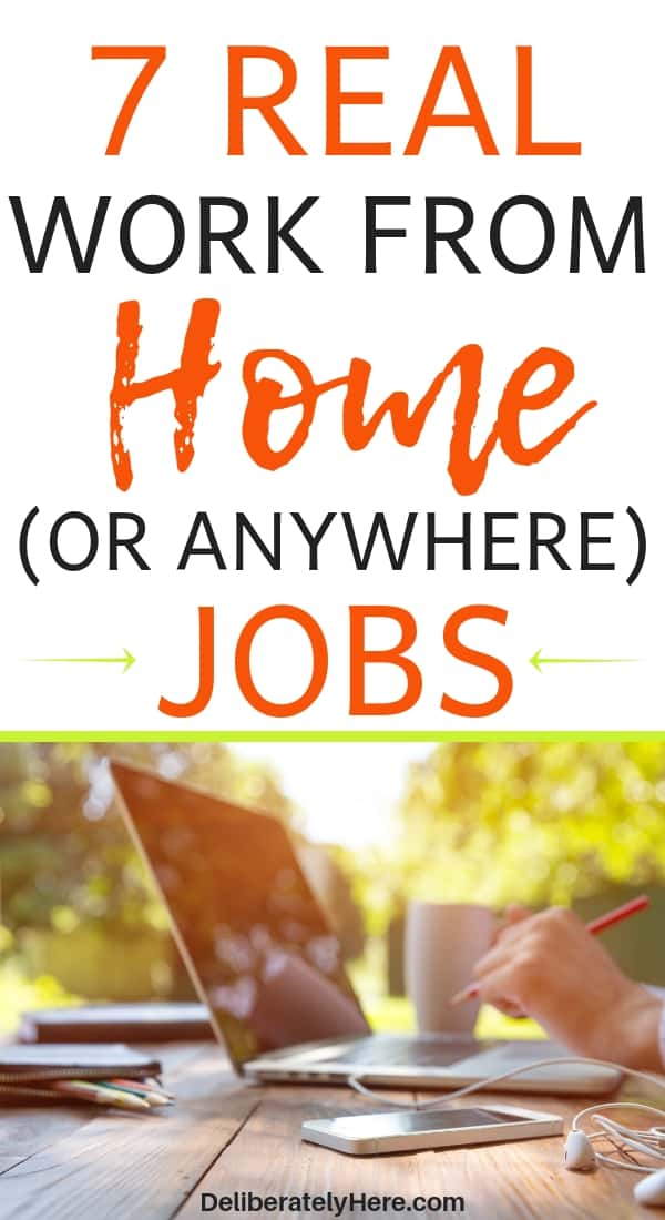 7 legit work from home jobs to help you make money from home. Be your own boss and make money from home. Easy ways to make money from home for stay at home moms. Stay at home mom jobs. Learn how to make money from home. How to work from home full time. Earn a full time income from home.