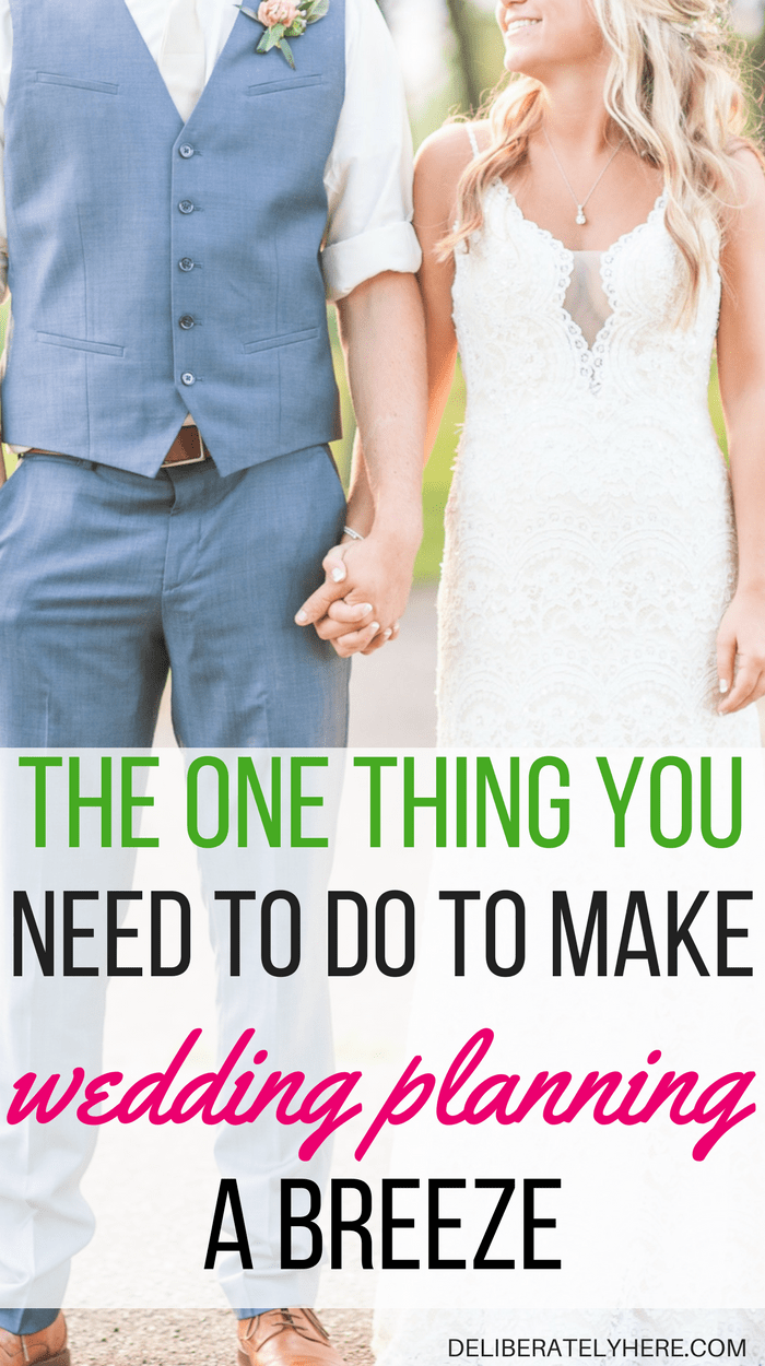 Do this one thing to take the stress out of wedding planning and event planning | make event planning and wedding planning easy with this simple step