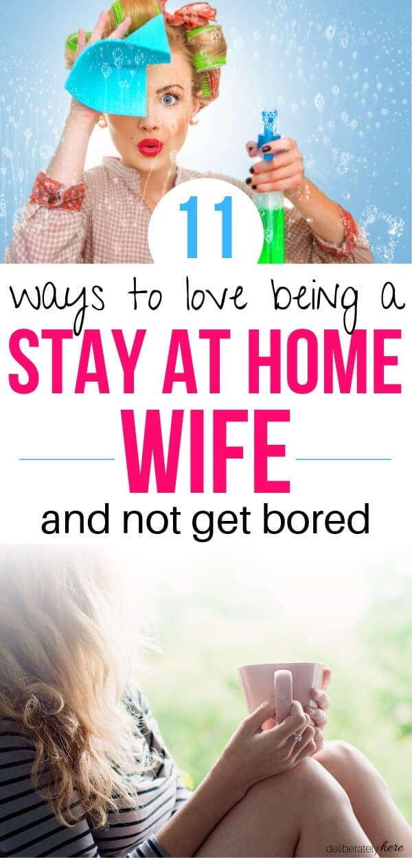 how to be a good stay at home wife