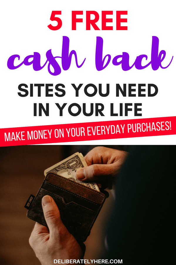 5 free cash back sites you need in your life make money on your everyday purchases