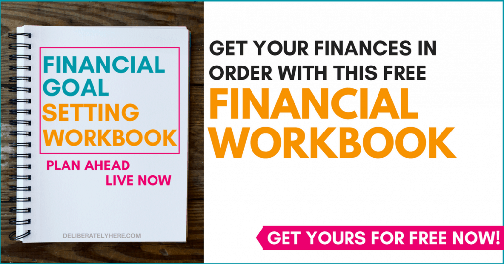 Get instant control of your finances with this goal setting workbook