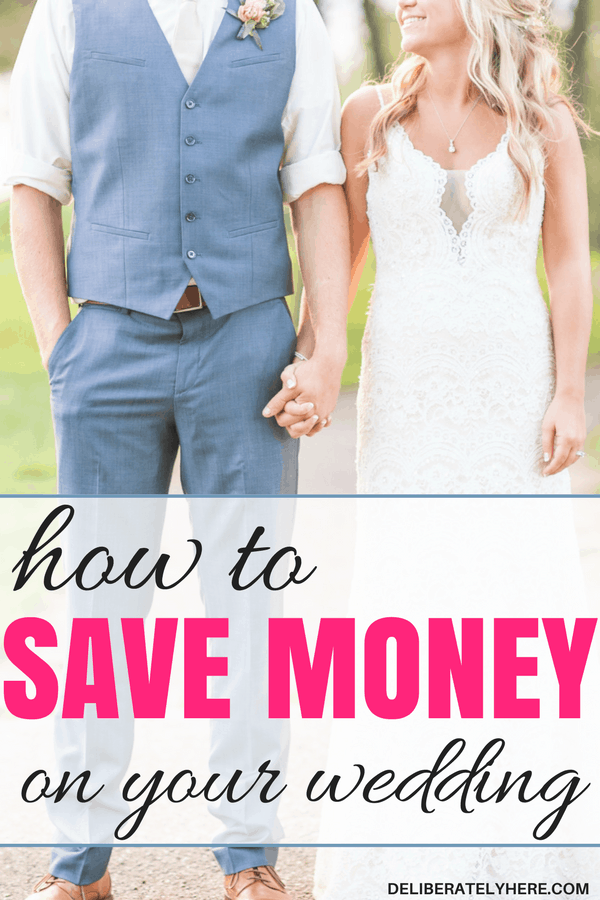 how to save money on your wedding | save money wedding planning