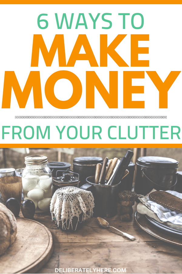Simple ways to make money from your clutter - declutter your house and make money from it. Learn how you can organize your house and make money while doing it. Sell your clutter for extra cash