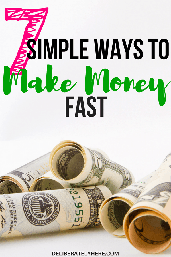 7 easy ways to make money from home. Make money from home quickly in 7 simple ways to save money and snowball your debt.