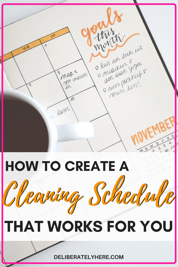 How to create a cleaning schedule that works for you. Create a cleaning routine that works for your busy schedule. Create the perfect cleaning routine - keep your house clean with minimal effort and time.