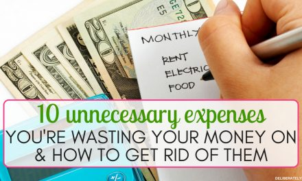 10 Expenses to Get Rid of Today
