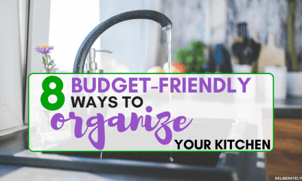 8 Budget Friendly Small Kitchen Organization Tips