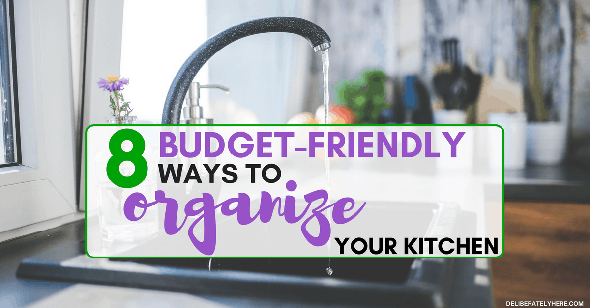 8 Budget Friendly Small Kitchen Organization Tips