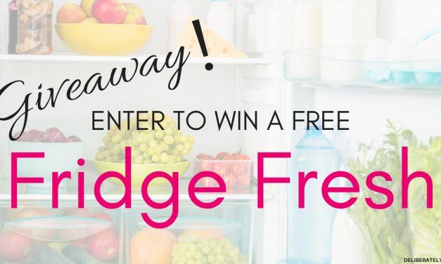 Fridge Fresh Giveaway (June 26 – July 10)