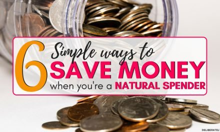 6 Ways to Save Money When You're a Natural Spender