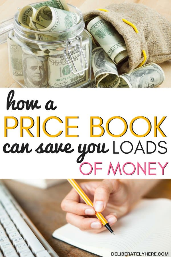 how a price book can save you loads of money. Use a price book to save money every month on your everyday living expenses. Save money on living expenses with a price book! Record all the prices to ensure you never overpay for anything every again! How to track prices to save money. How to use a price book to save money on purchases. I'm so excited to start my price book! I've been searching for any way that I can save money, and I haven't found any that work, but I just know that the price book is the one thing I've been missing all along! What a genius idea! Plus she offers a free printable price book, the exact layout that she uses to save hundreds of dollars every month! How cool is that!! How to create a price book to save money.
