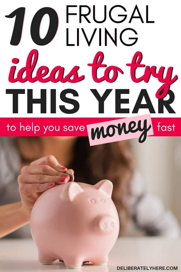 Frugal living ideas to try this year to save money fast. Save money with frugal living to cut your monthly expenses and learn how to stay under budget. Frugal living for beginners - the top frugal living tips to help you make smart personal finance decisions. Learn these extreme frugal living hacks to save money with a budget.