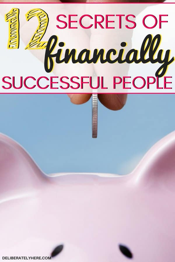 12 secrets of financially successful people. The top secrets to help you create a financially successful life, don't let your finances control your life - experience true financial freedom. Find the secrets to financial success here.