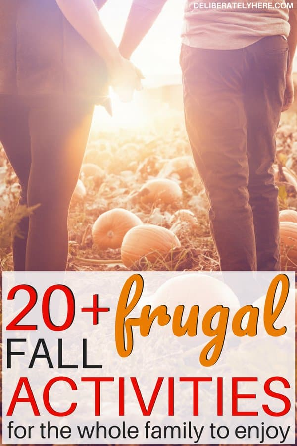 21 frugal fall activities for the newly frugal. Frugal fall activities for the whole family. Save money fast this fall with these frugal family activities that are fun for everyone. Use these frugal living tips for beginners to enjoy the autumn season without going broke. Stay in budget this fall and save money for the holiday season.