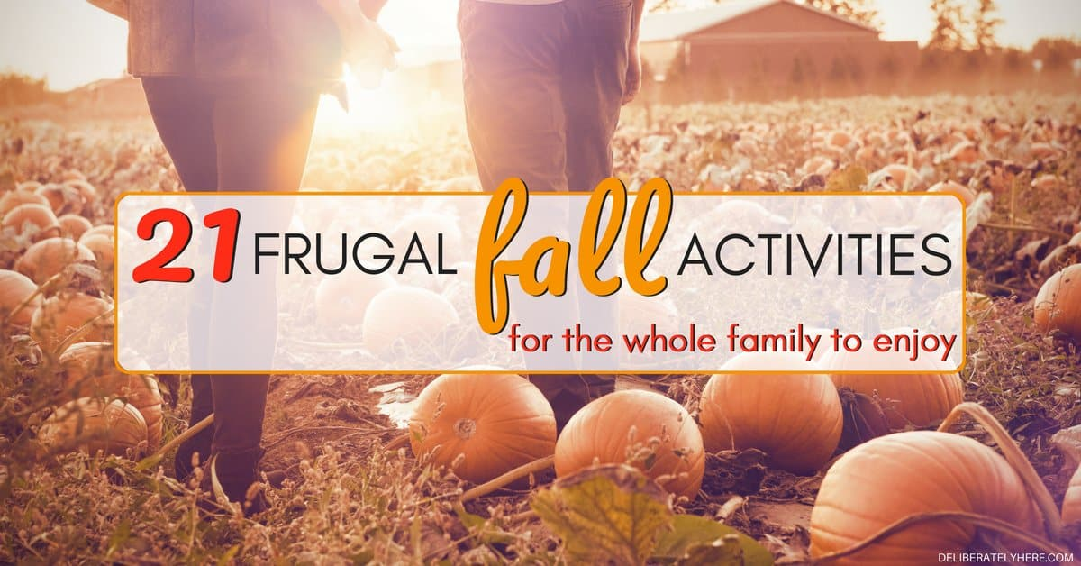 21 Frugal Fall Activities for the Whole Family