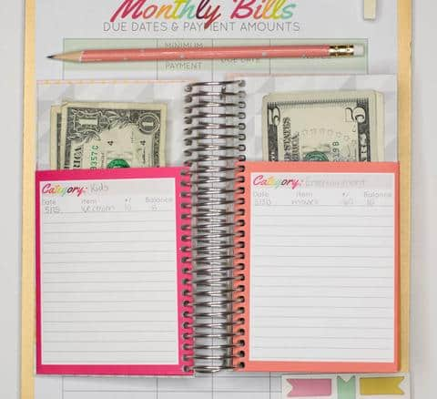 Spend well budgeting system by carrie elle. The perfect cash envelope system to save money