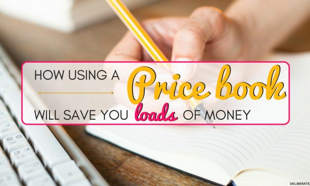How to Create a Price Book to Save Money