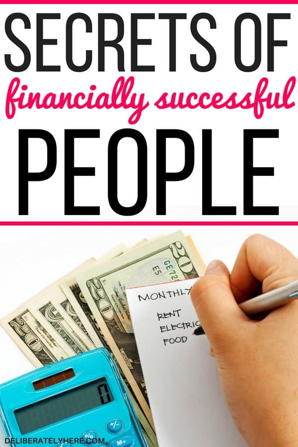 12 secrets of financially successful people. The top secrets to help you create a financially successful life, don't let your finances control your life - experience true financial freedom. Find the secrets to financial success here!