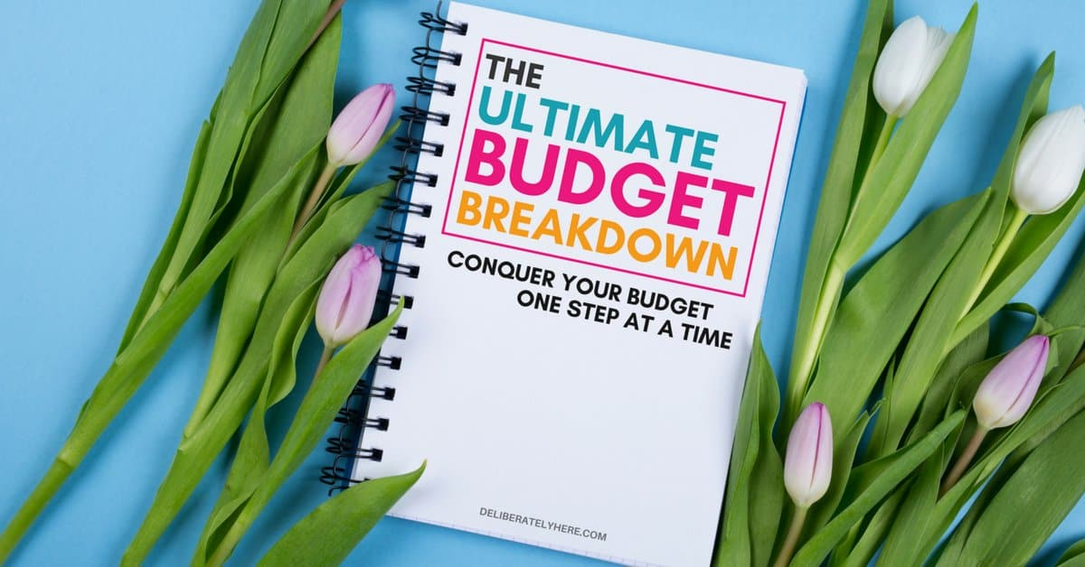 The Ultimate Budget Breakdown: The perfect system for creating a budgeting system that works for your unique lifestyle