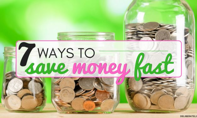7 Ways How to Save Money Fast