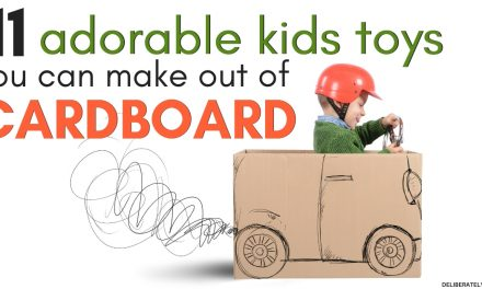 11 Adorable & Affordable Kids Toys You Can Make Out of Cardboard