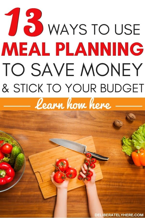 How to meal plan on a budget, 13 things you need to know. Meal planning on a budget save money on groceries every month with these easy money saving tip. Meal planning for beginners tips to help you get started with meal planning. Meal planning printable, meal planning template, meal planning ideas to help you save money fast this month. Easily save money every month on food costs. Cut costs with these money saving tip. Weekly meal plans to save money fast. How to meal plan to save money and stick to a budget.