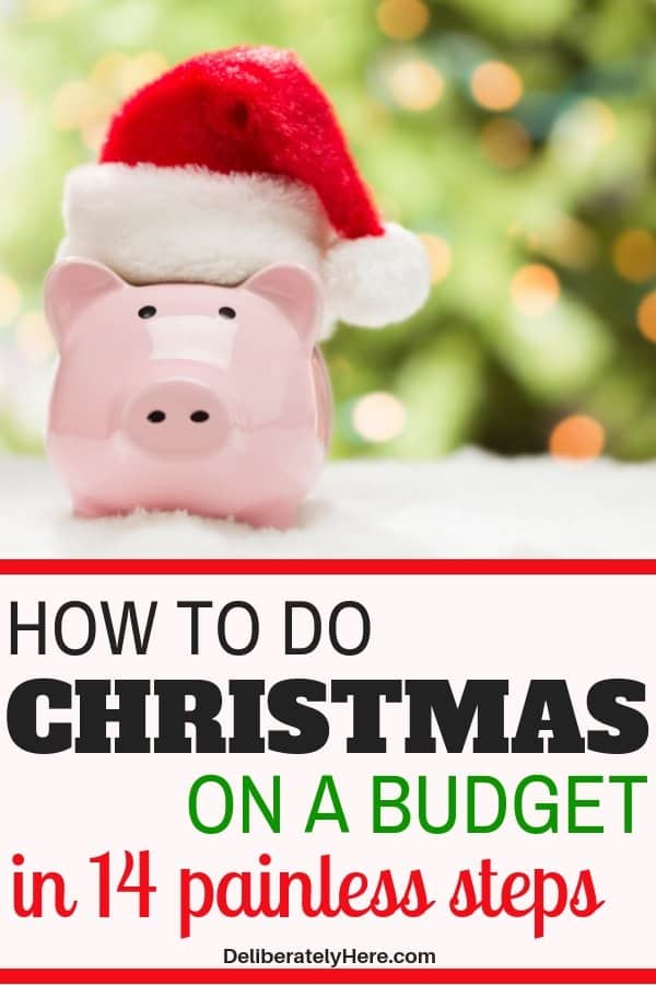 14 ways how to do Christmas on a budget. Save money on Christmas, do Christmas cheap this year. Christmas gifts on a budget, Christmas stocking stuffers on a budget. Do Christmas on a budget for families. DIY Christmas. How to stay on budget this Christmas.