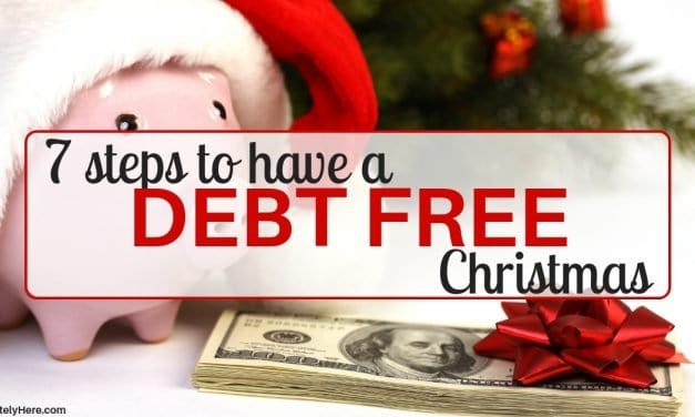 How to Have a Debt Free Christmas in 7 Easy Steps