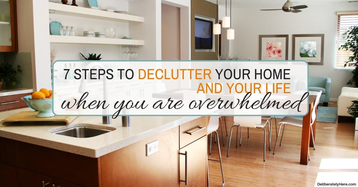 How to Declutter Your Home and Your Life in 7 Steps
