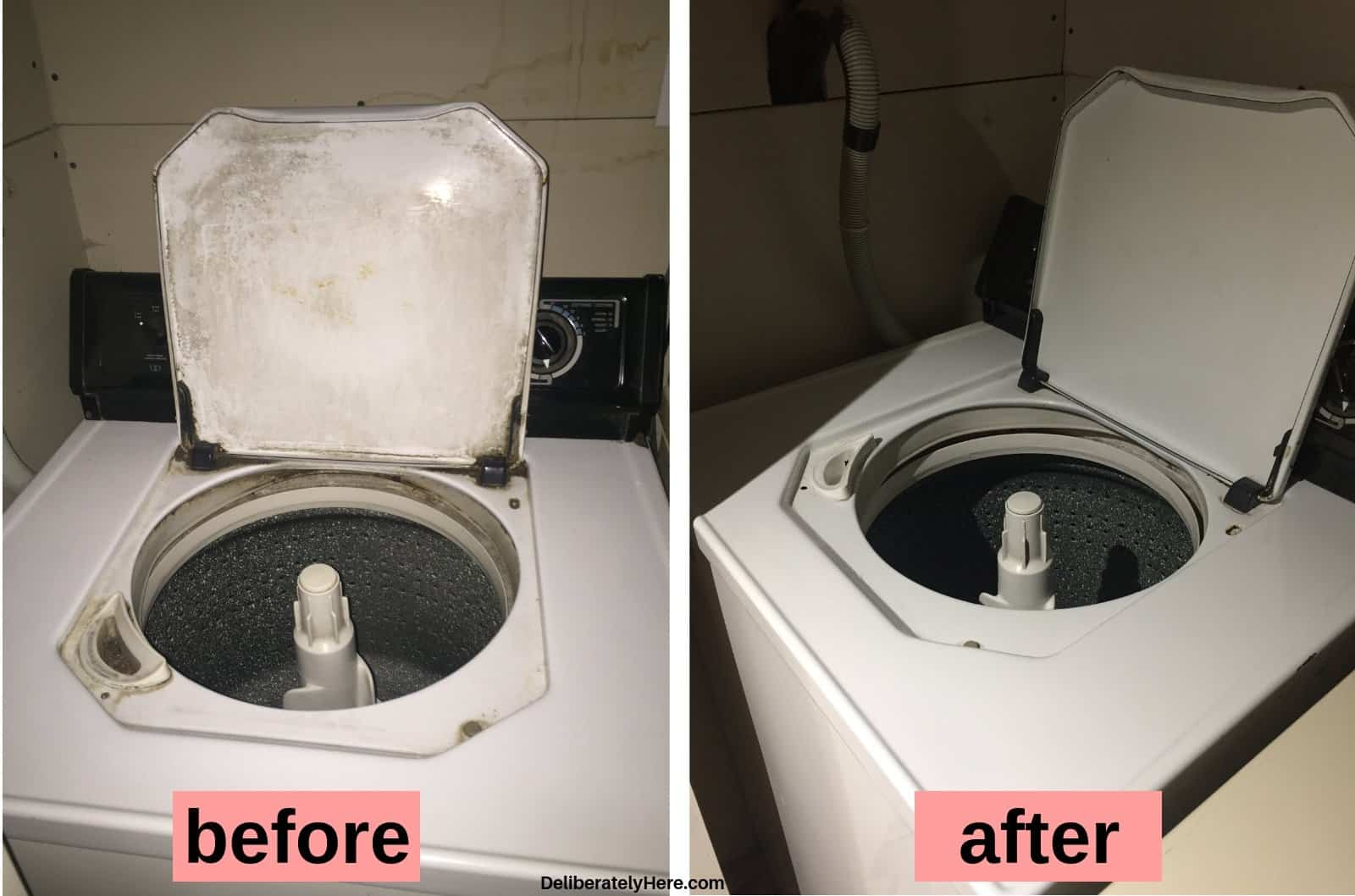 How to clean a washing machine before and after