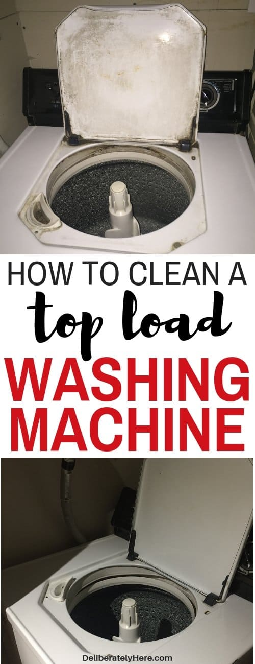 How to clean a washing machine. How to clean a top load washing machine naturally. Chemical free house cleaners. House cleaning tips. How to clean washing machines. 10 steps to clean a top loading washing machine with natural products. How to clean washing machines - how to clean top load washing machines using vinegar and baking soda. How to easily clean your washing machine. Cleaning hacks for the home. Cleaning tips for the home.