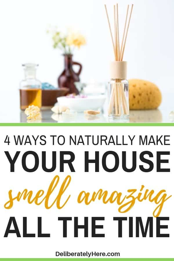 4 ways to naturally make your house smell good all the time. 4 ways how to make your house smell good all the time. Make your house smell good naturally. Natural scents to make your house smell good. Make your house smell good with aromatherapy, essential oils, and reed diffusers. Get the bad smell out of your house with these natural remedies.