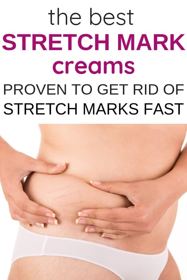 The best stretch mark creams to get rid of pregnancy stretch marks fast. Postpartum stretch mark cream to fade stretch marks. How to get rid of pregnancy stretch marks. How to prevent stretch marks during pregnancy & the best pregnancy stretch mark prevention.