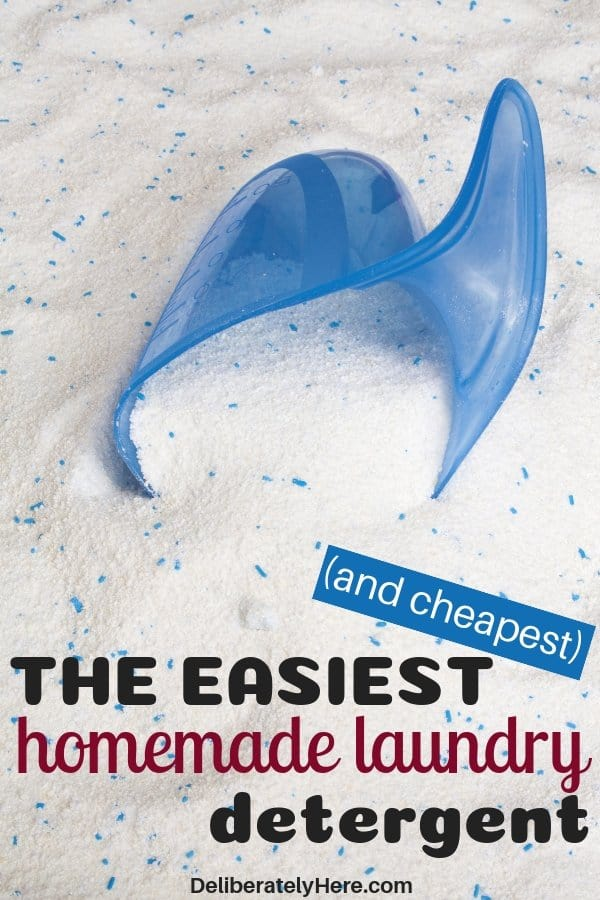 The 5 easiest and cheapest homemade laundry detergent recipes. Laundry detergent recipes that are extremely affordable. Homemade powder laundry detergent. Homemade liquid laundry detergent. Natural homemade laundry detergent good for sensitive skin. Homemade laundry detergents with essential oils. Homemade laundry detergent that smells good and cleans your clothes. Easy homemade laundry detergent for the frugal homemaker.